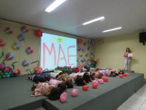 Homenagem às mães - Educação Infantil